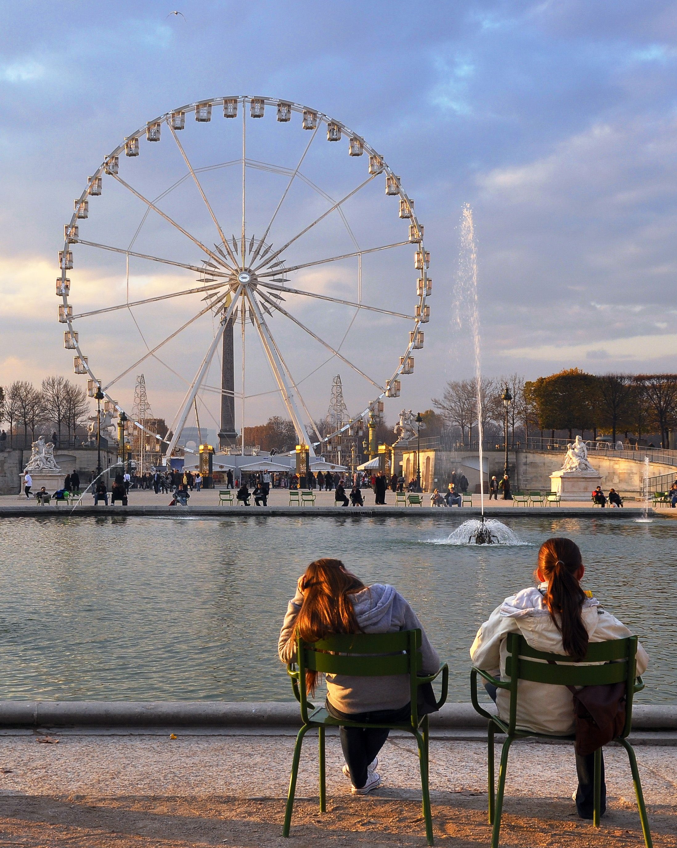 Offrez-vous une halte au jardin des #Tuileries, au carrefour du ...