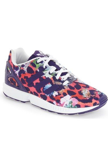 new concept e7e2a fbcf3 adidas ZX Flux EL Print Running Shoe (Baby, Walker, Toddler, Little Kid   Big Kid) available at Nordstrom