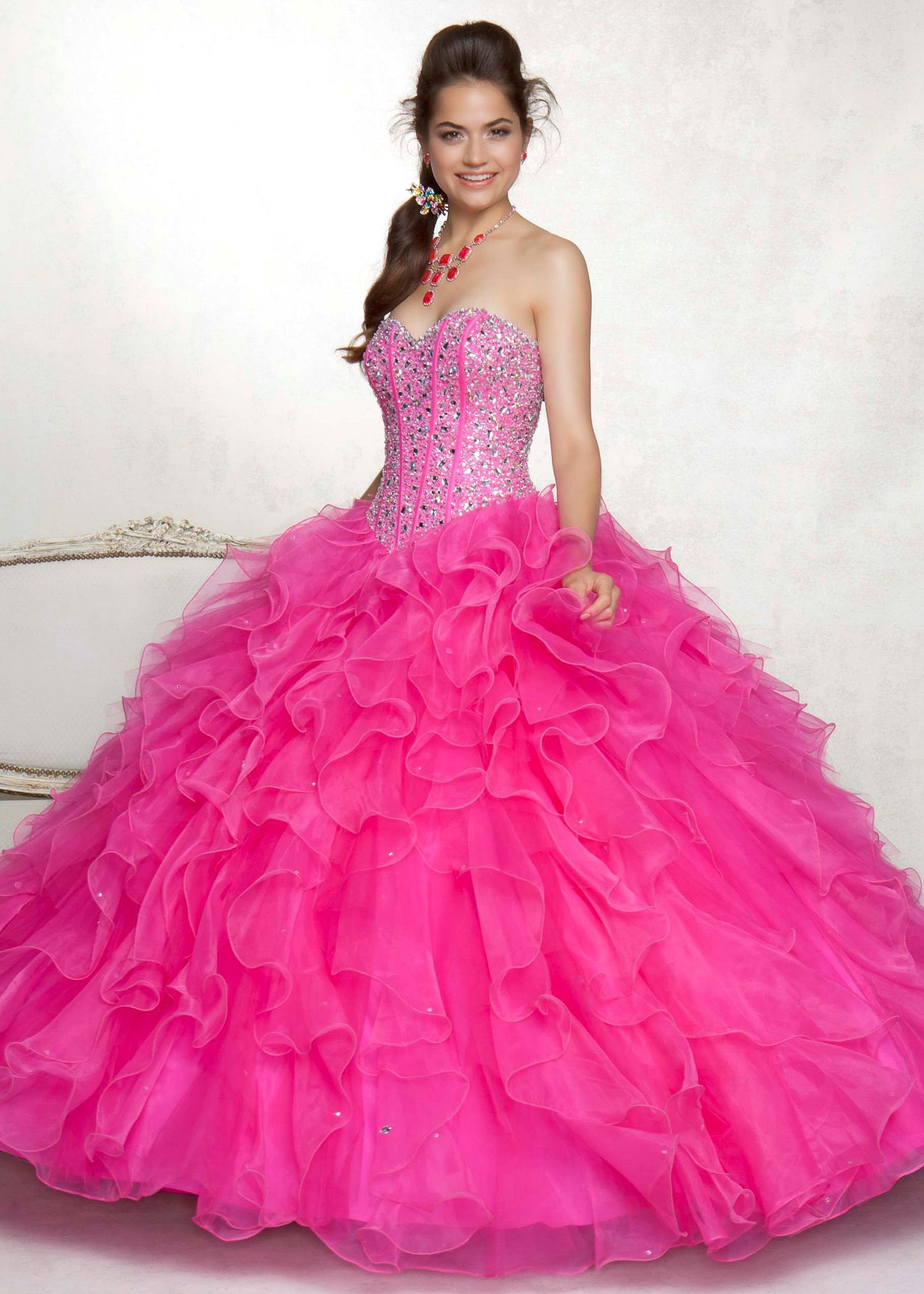 pink ball dresses - Dress Yp