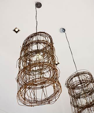Naturally Superior Twig Chandelier Small