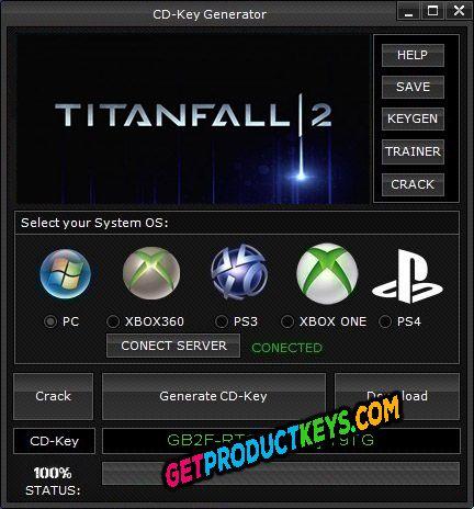 Titanfall 2 cd key