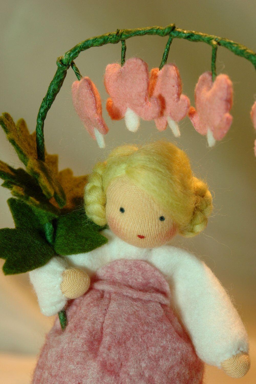 Bleedig heart flower child waldorf inspired by