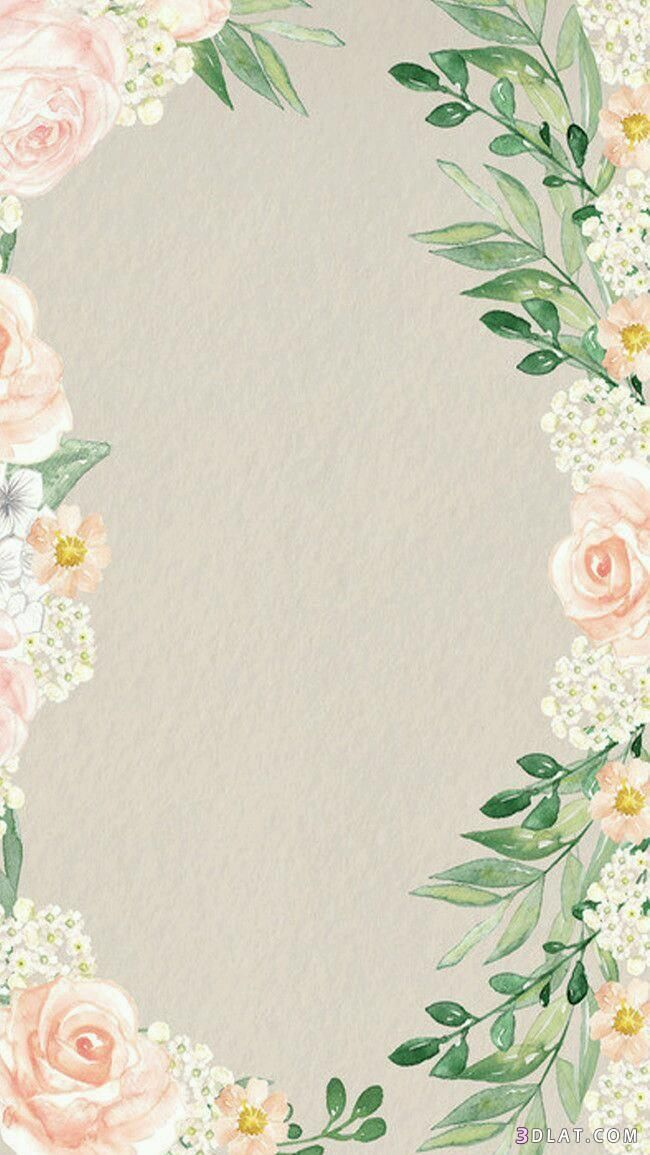 اطارات الاطارات عليها2018 فارغه للتصميم للكتابه والبراويز ورود Flower Background Wallpaper Flower Backgrounds Trendy Flowers