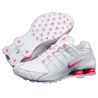 @Overstock - Enjoy your long rungs by wearing these white and pink shox running shoes from Nike. A phylon midsloe, shox columns and carbon rubber provide support and comfort.   http://www.overstock.com/Clothing-Shoes/Nike-Womens-Shox-Runing-Shoes/7828404/product.html?CID=214117 $112.99