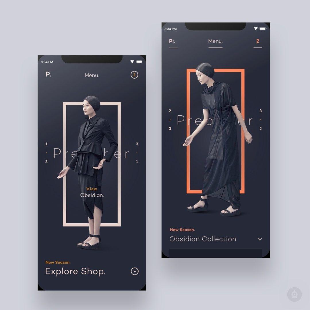 Obsidian Art Direction By Yesfable Get Inspired Daily Follow Along At Design Bot Get Featur Inspirasi Desain Grafis Desain Brosur Desain Poster