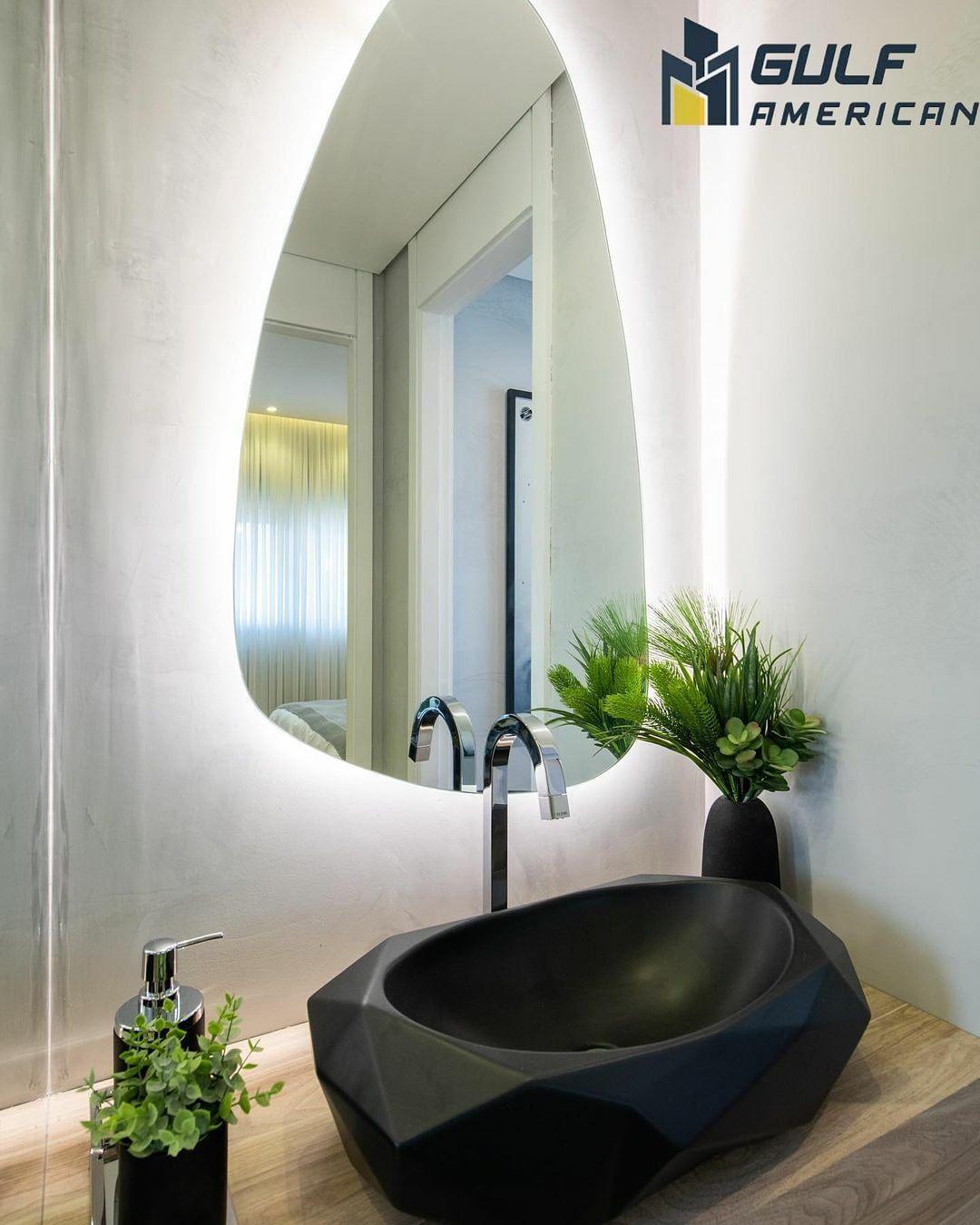 مقاول الكويت 99134277مقاول ترميمات مقاولات عامة حمامات سباحة ديكورات تصميمات Lighted Bathroom Mirror Bathroom Lighting Bathroom Mirror
