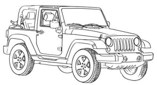 The Most Awesome Beautiful Jeep Coloring Pages Http Coloring