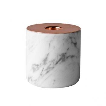 Chunk of Marble kynttilänjalka L, kupari