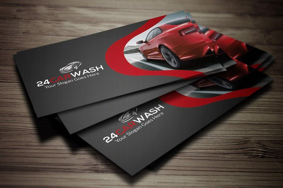 Car Wash Business Card Free Business Card Templates Graphic Design Business Card Car Wash Business