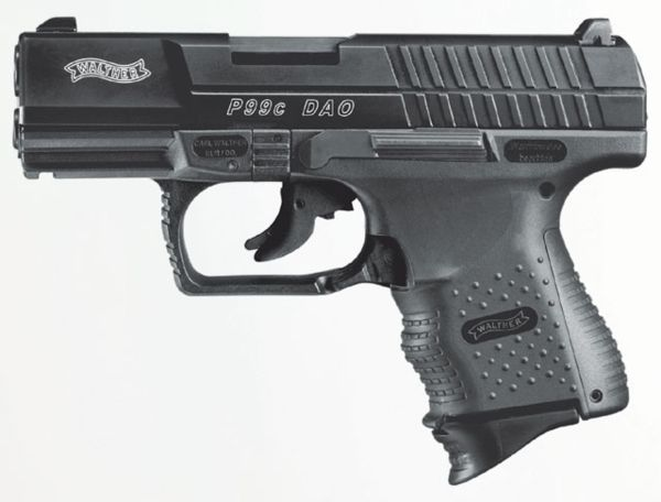 Walther P99 Compact DAO pistol, 2nd generation (note