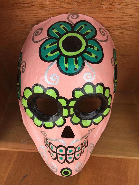 Dia de los Muertos skull mask