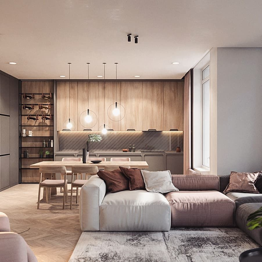 Amazing Renders On Instagram Yes Or No Render By Zooidesignstudio Follow Us For More Inspiration Trendy Living Rooms New Living Room Interior Design Living room no couch