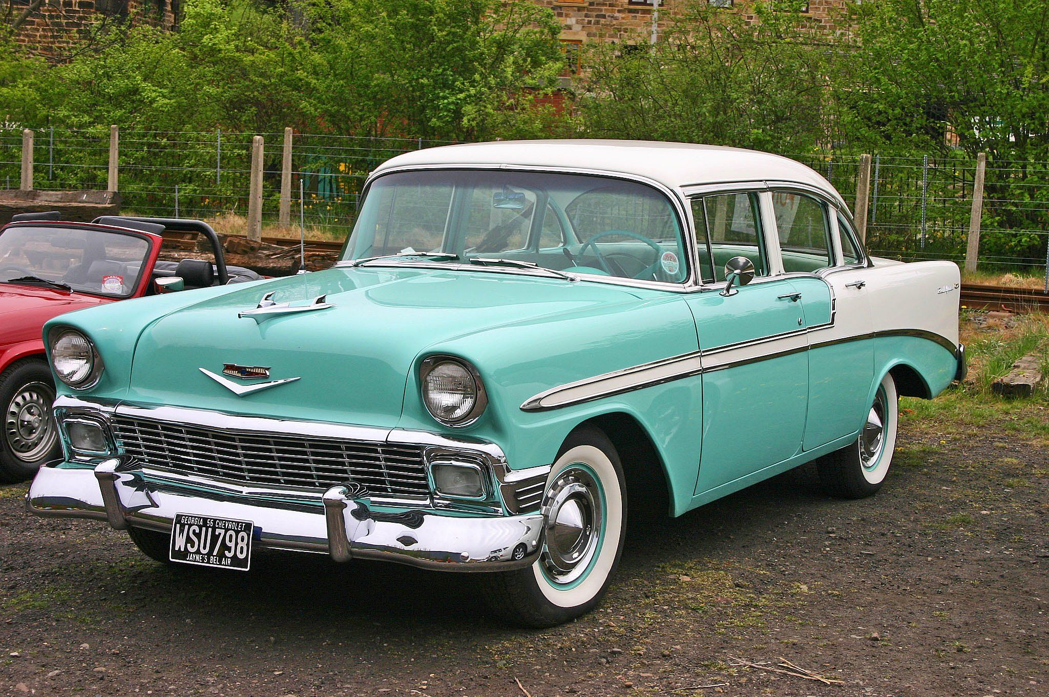 Kelebihan Chevrolet Bel Air 1956 Tangguh