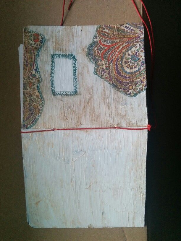 DIY art journal - work in progress