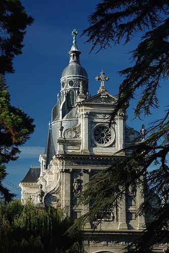 Église Saint-Vincent. Blois (Loir-et-Cher)
