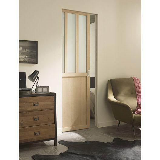 ensemble porte atelier avec son galandage scrigno deco bedroom pinterest ensemble. Black Bedroom Furniture Sets. Home Design Ideas