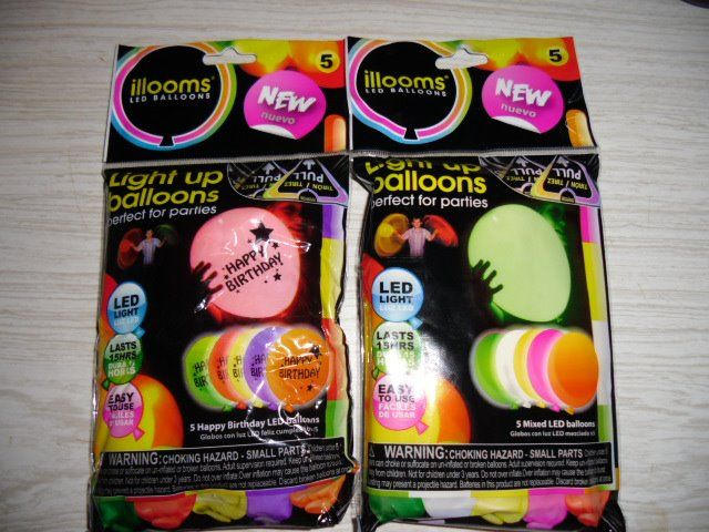 Light Up Balloons From Walmart Visually Impaired Resources