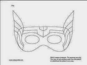 Manualidades Mascara Superhero Pinterest Party Y Thor UFwFqxB56