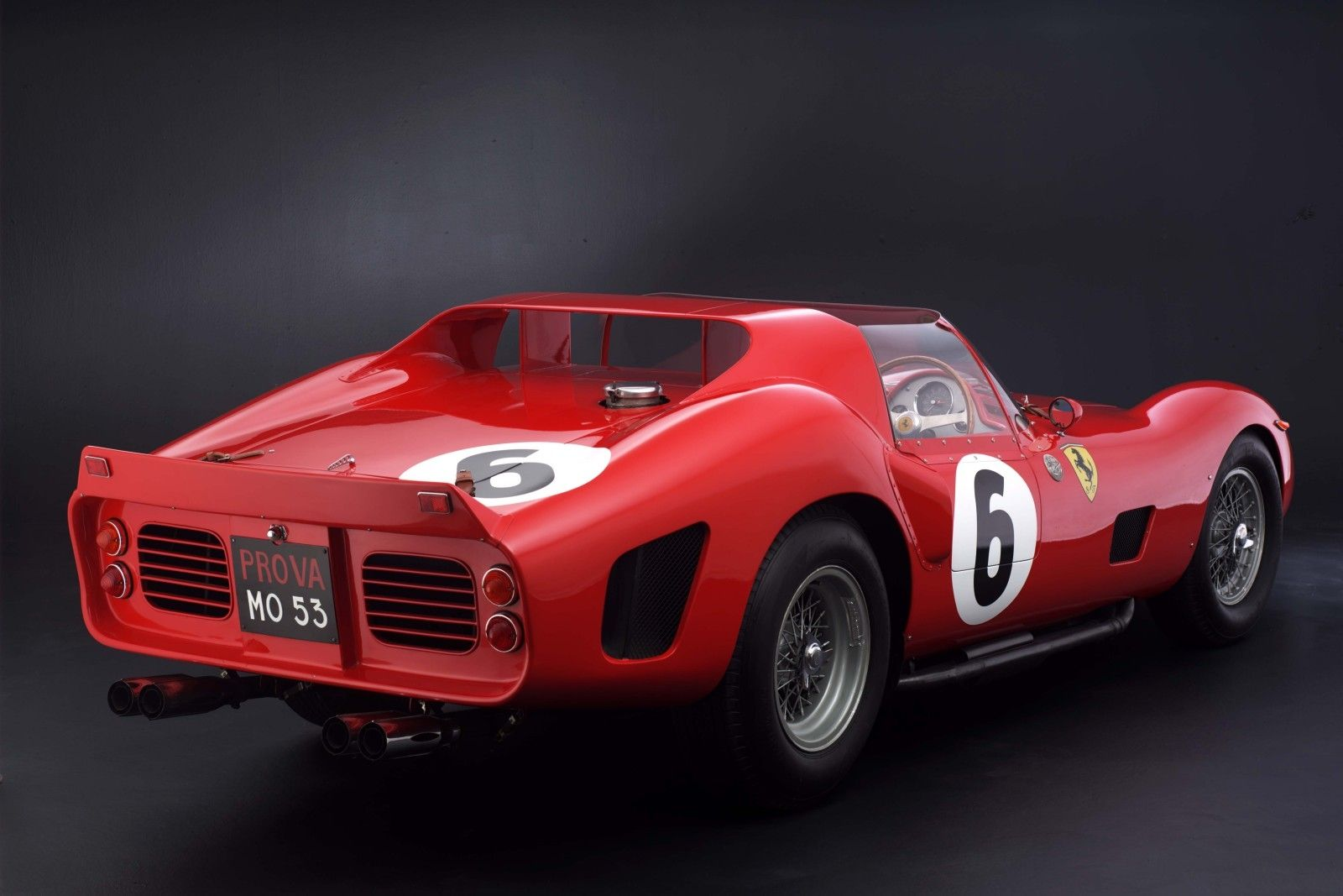 from the listing for this ferrari race car for sale: 1965. born as