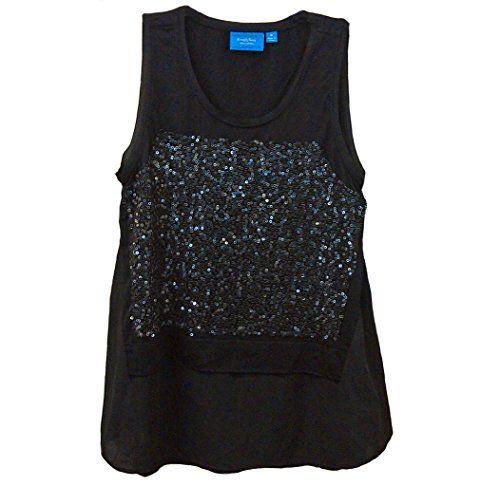 Simply Vera Wang Long Tunic Style Sequins Black Women's Top Simply Vera http://www.amazon.com/dp/B00RGSHVDI/ref=cm_sw_r_pi_dp_rtwNub0095F1K