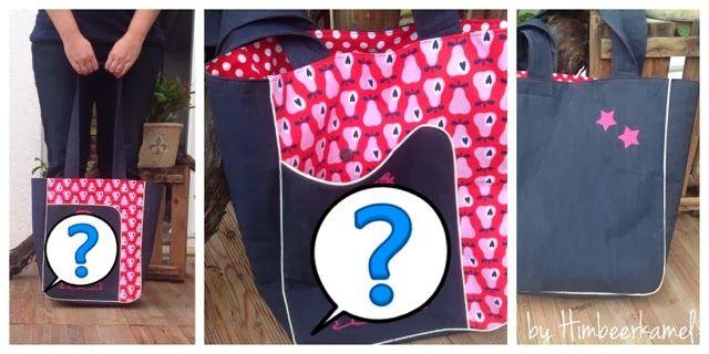 Himbeerkamel: Eine neue Tasche nuuuuur für mich :)
