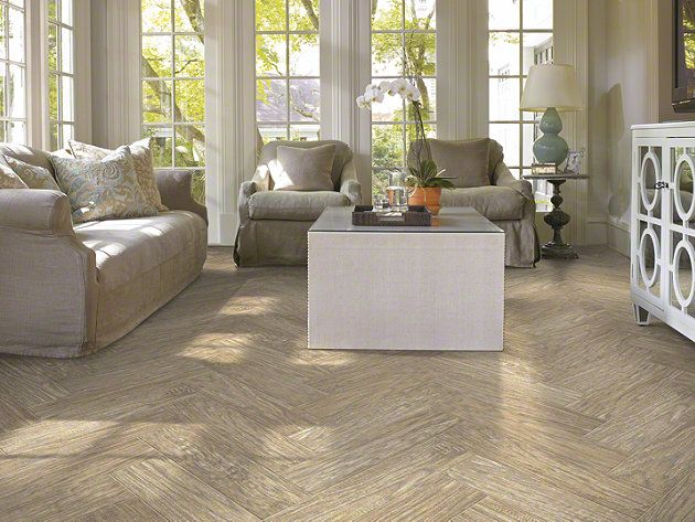 "Ceramic tile that looks like hardwood! in style ""Petrified ..."