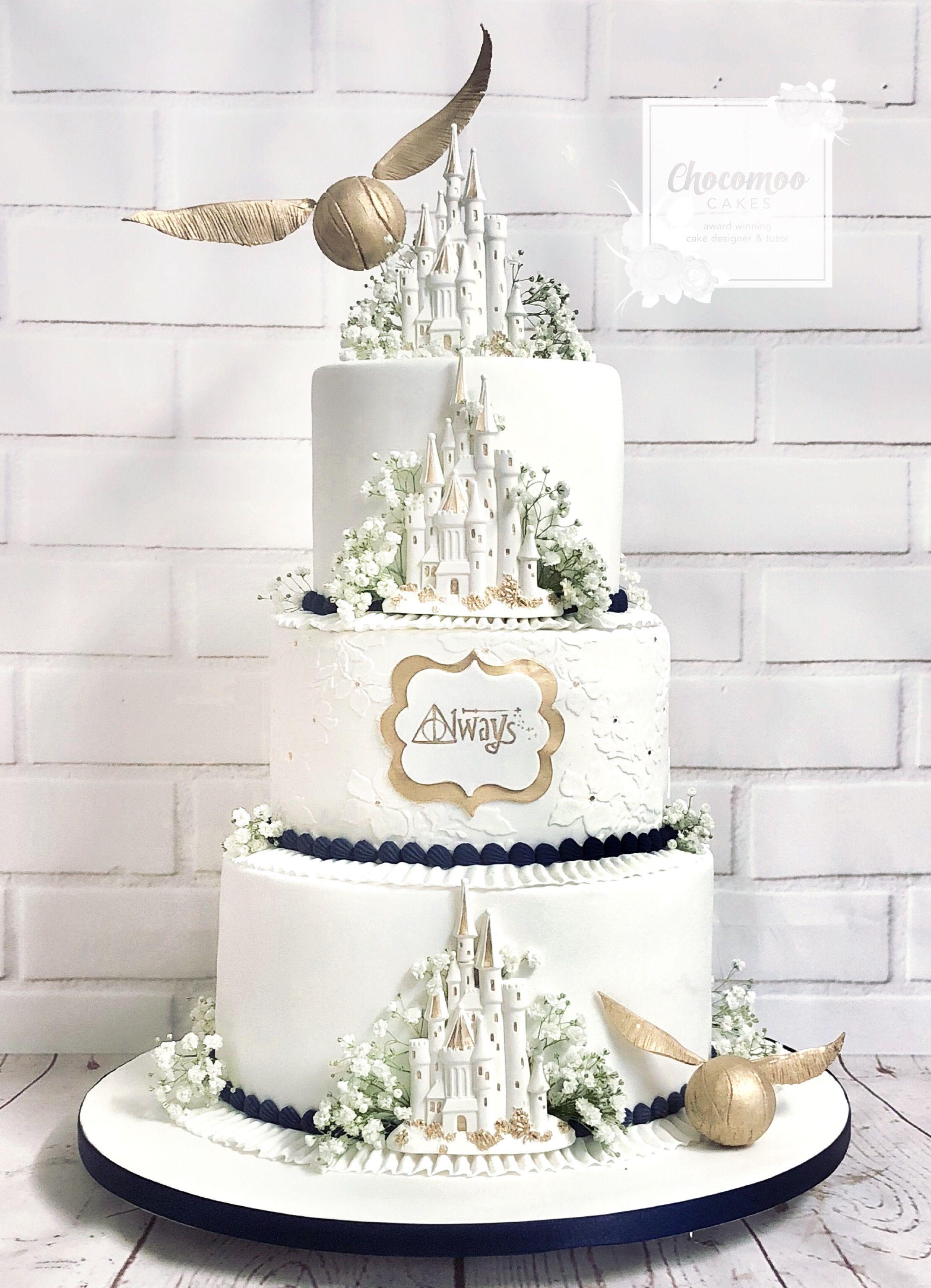 Harry Potter Wedding Cake Wedding Cake Pinterest Harry Potter