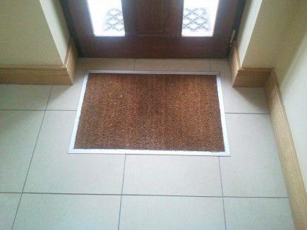 pin by chris on bathrooms door mat