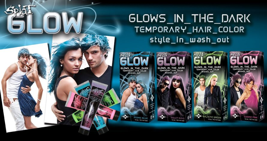 Keep The Party Glowing W Splat Rebellious Colors Temp Hair Colours