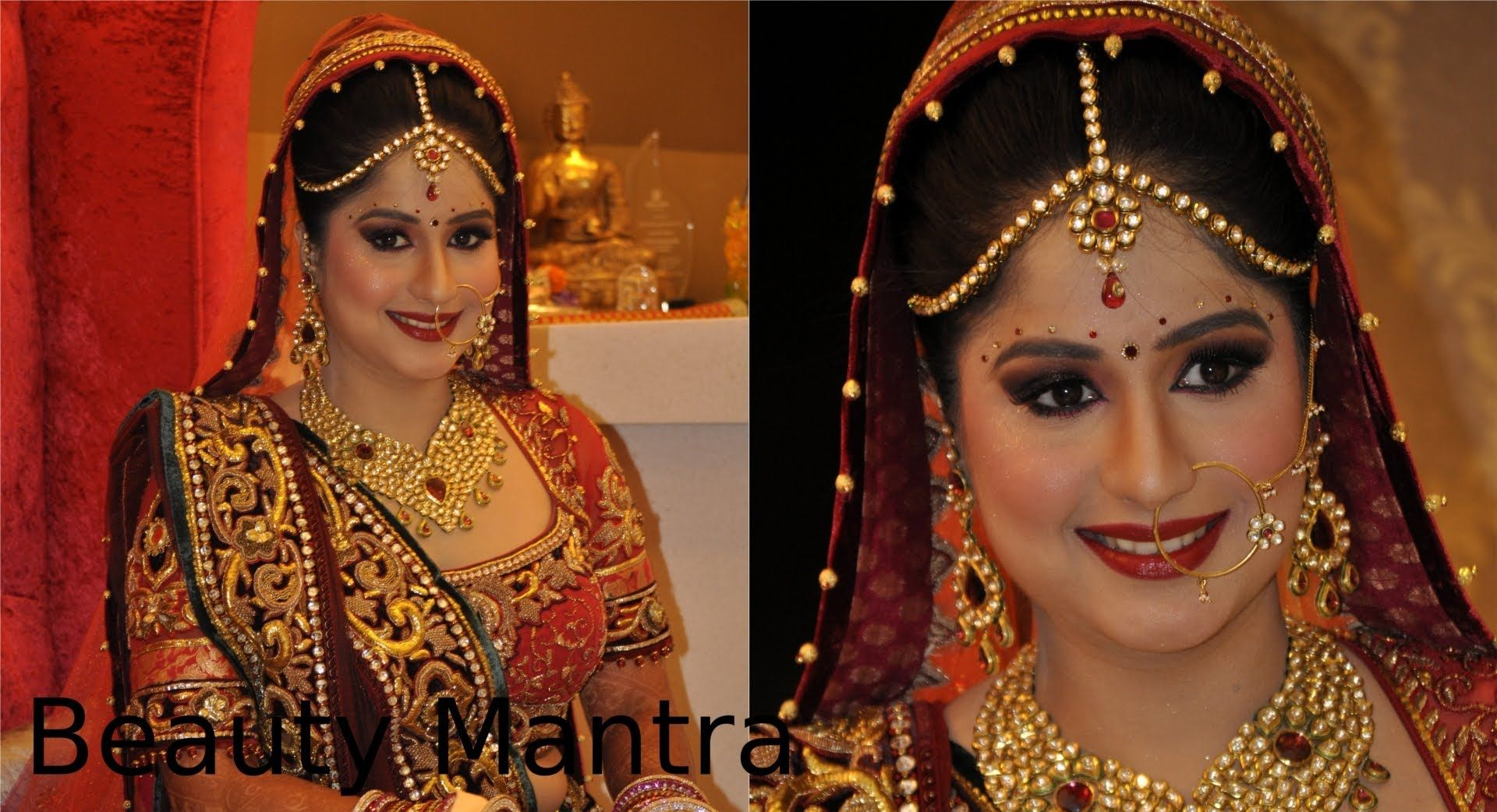 North indian bridal hair styles