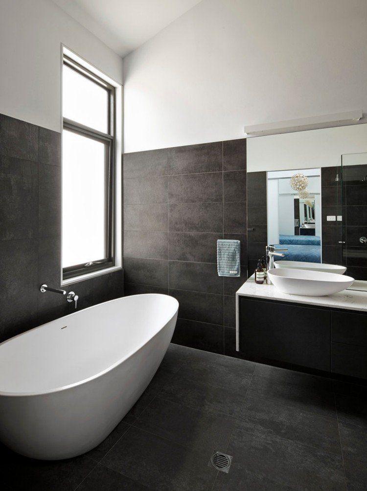 Carrelage salle de bains et 7 tendances à suivre en 2015 Bath and - faience ardoise salle de bain