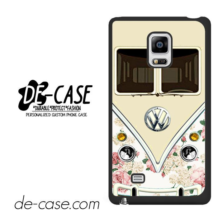 Pink Floral VW Retro Bus DEAL-8661 Samsung Phonecase Cover For Samsung Galaxy Note Edge