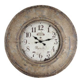 Kensington Wall Clock Oversized Wall Clock Brown Wall Clocks Wall Clock