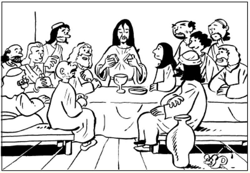 Ofertorio Del Pan Y El Vino En La Ultima Cena De Jesus Para Colorear Ultima Cena De Jesus Imagen De Semana Santa Semana Santa Ninos
