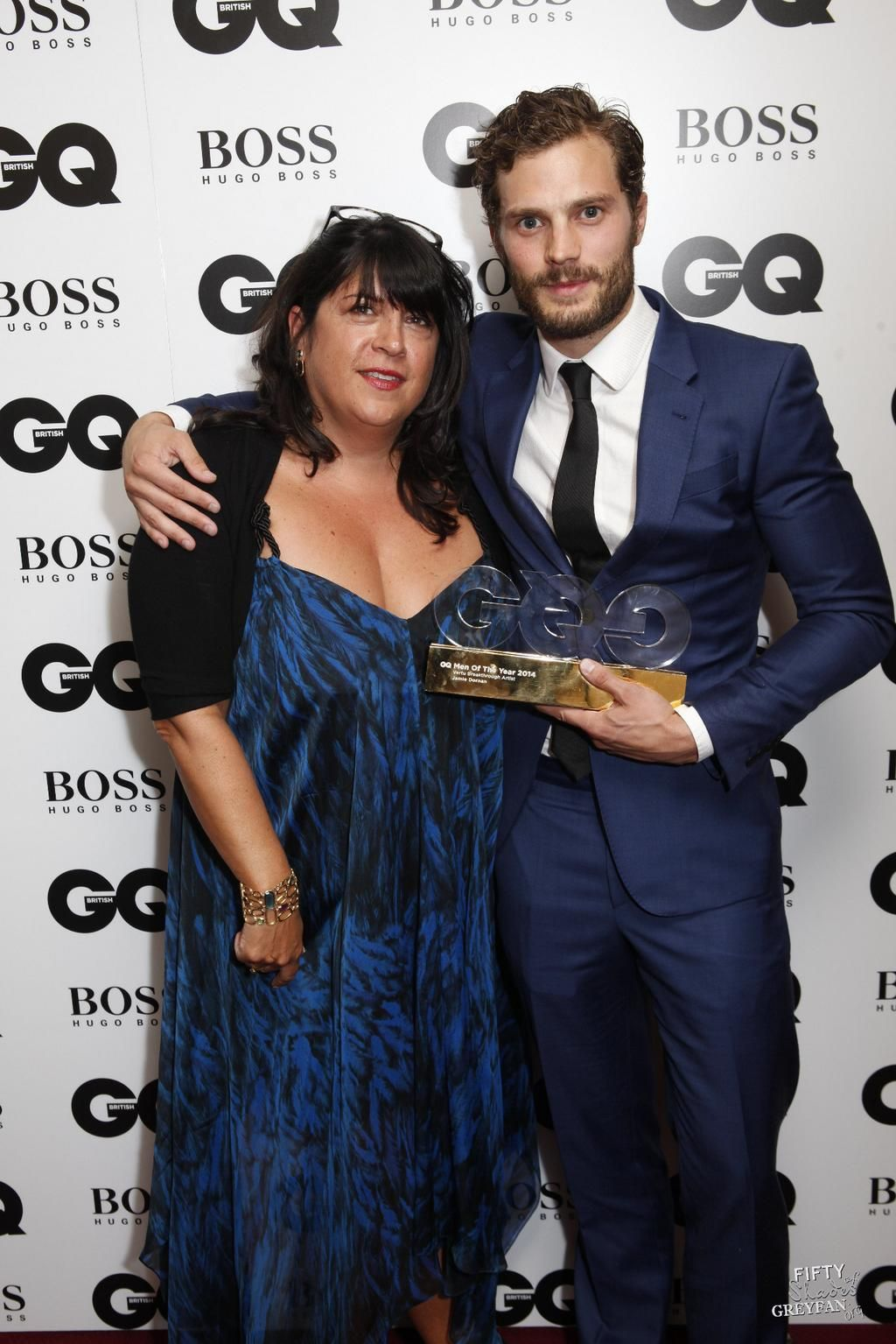 Fifty Shades Freed on (With images)   Jamie dornan, Gq awards ...