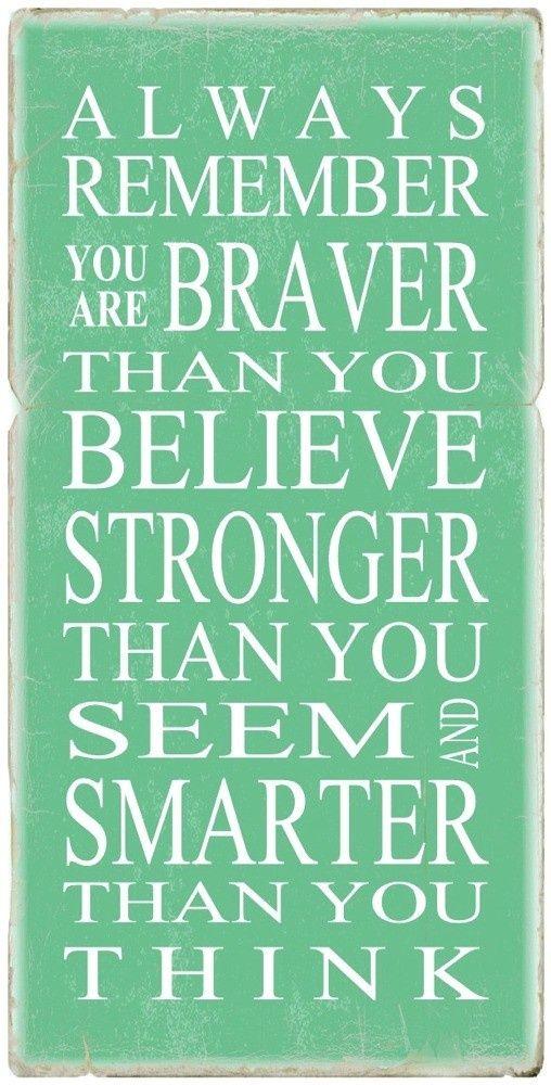 #Brave #Strength