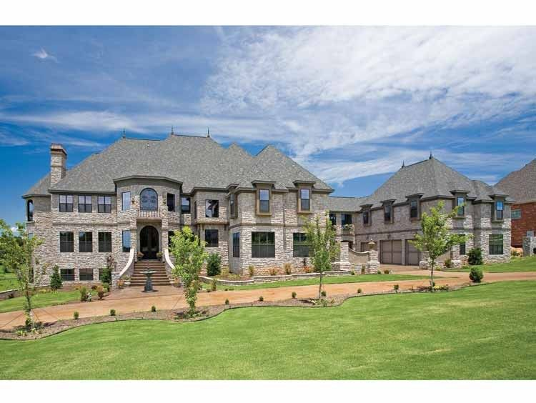Country Style House Plan - 6 Beds 7.5 Baths 7618 Sq/Ft ...