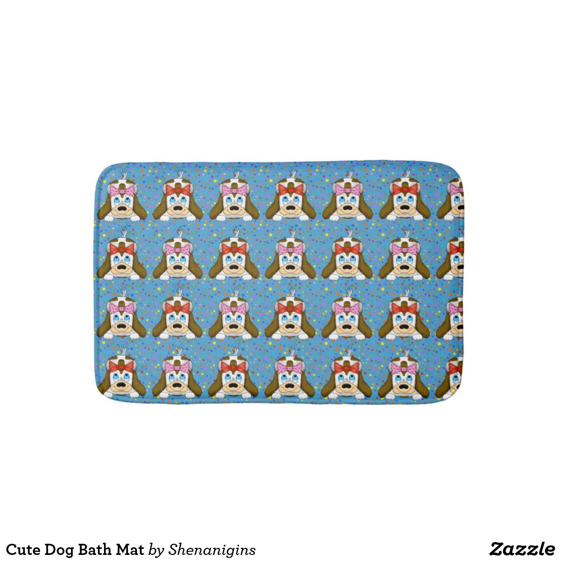 Cute Dog Bath Mat We Also Have A Matching Shower Curtain Towel