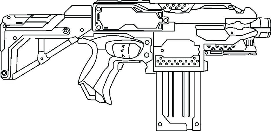 Pin On Nerf Coloring Pages
