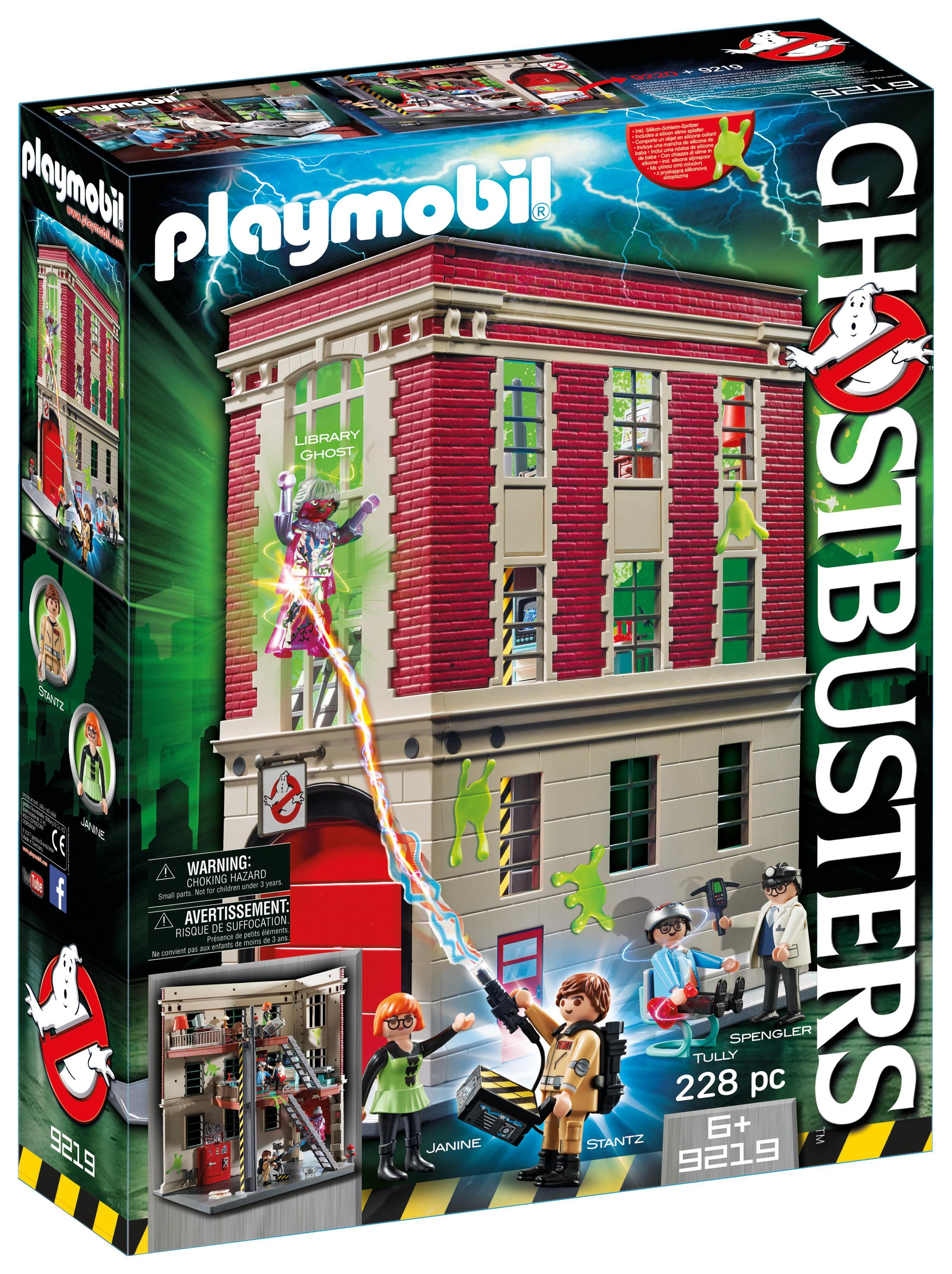 Playmobil Winston Zeddemore Ghostbusters Jetski The Real Ghostbusters 9387 Set