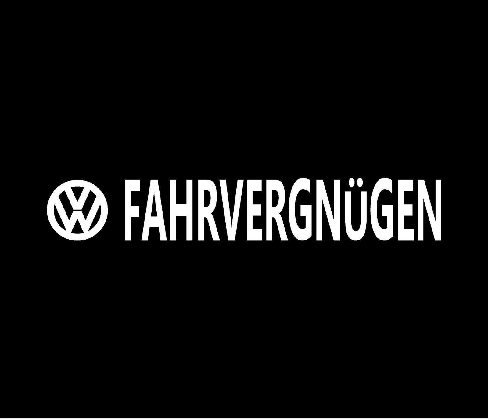 Wandtattoos Wandbilder Fahrvergnugen Vinyl Decal Car Window Bumper Sticker Volkswagen Vw Mobel Wohnen Om zelf te plakken of om te laten plakken. هنرکده سفیر صنعت
