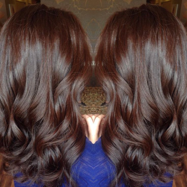 This Rich Chocolate Red Is The Best Fall Color Like Ever Obsessed With This ヘアスタイリング ヘア カラー