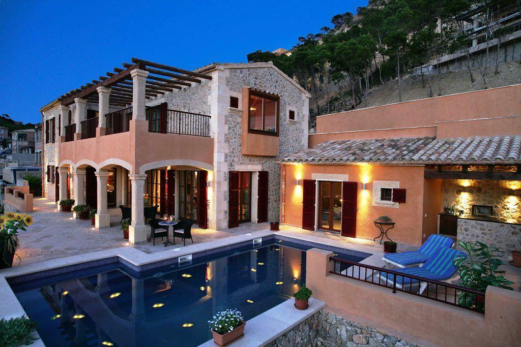 Meerblick Villa im Finca Stil in Puerto Andratx auf