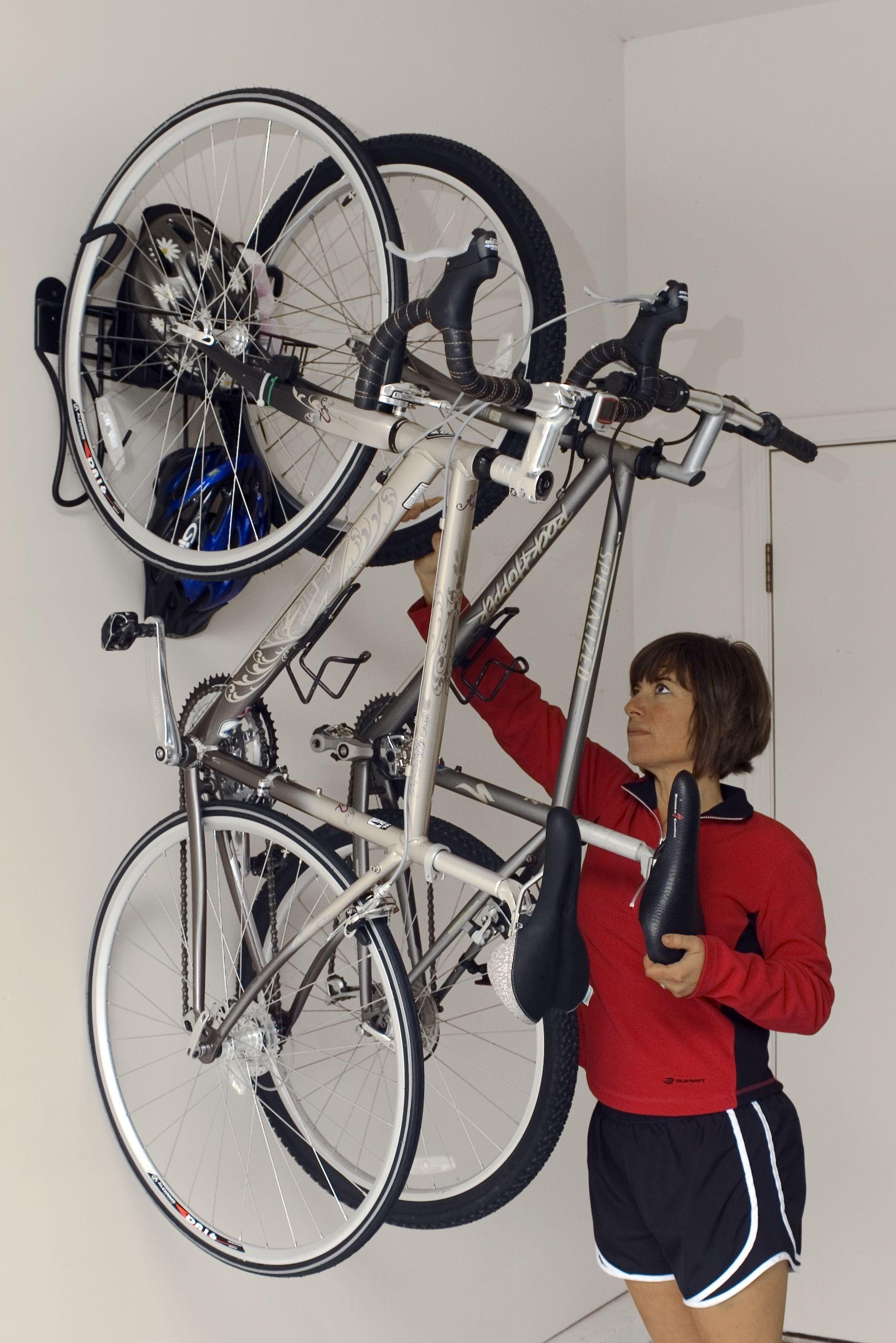 floor gator for systems level lowering overhead uses garage storage ahd bike popular rack lift racks to