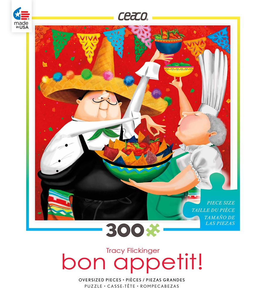 300 piecesPart of the Bon Appetit SeriesMade by CeacoCompleted ...