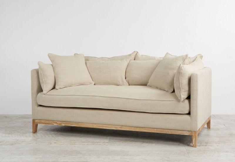 Prime Audrey Hampton Style 180Cm Linen Sofa Lounge In Mignon With Inzonedesignstudio Interior Chair Design Inzonedesignstudiocom