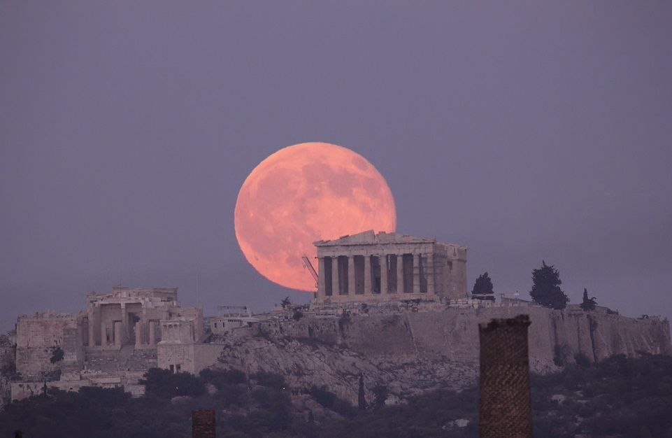 red moon tonight greece - photo #21