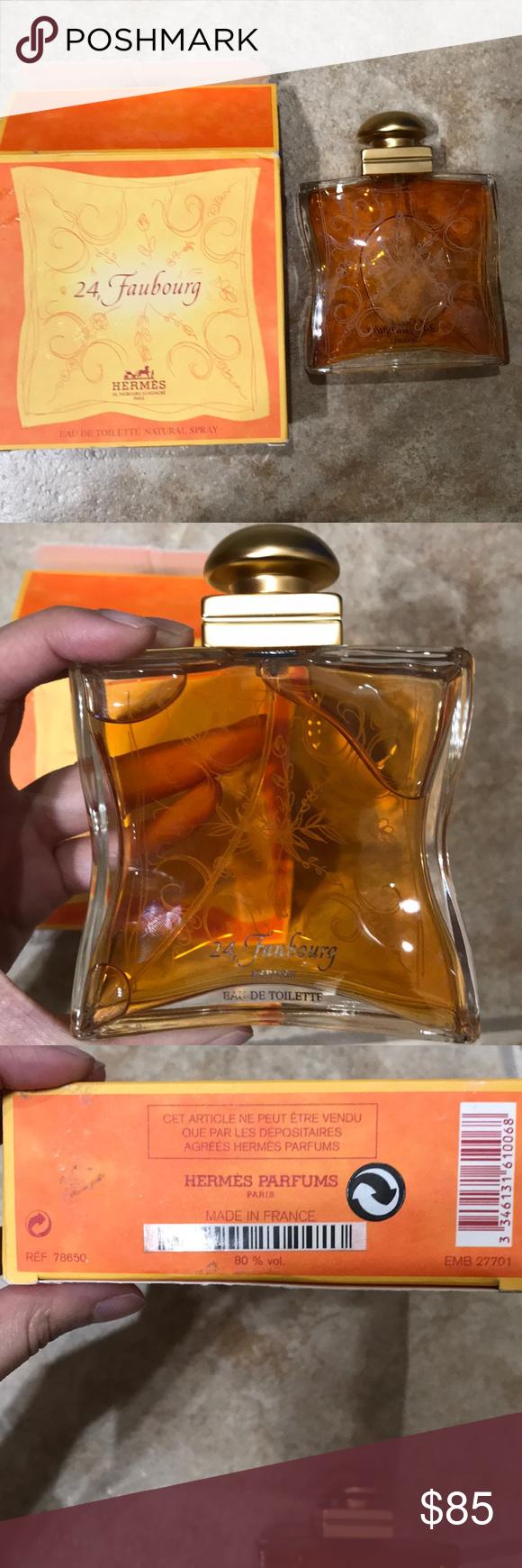 Authentic Herms 24 Faubourg 33 Fl Oz Perfume Hermes Woman Edp 100 Ml Eau De