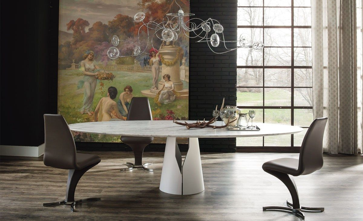 Round dining table GIANO by Cattelan Italia