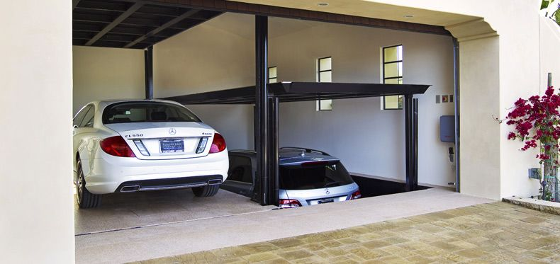 Image result for Car Lift Garage
